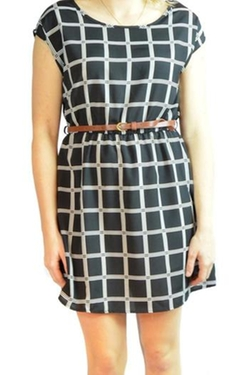 Noble U - Belted Print Dress