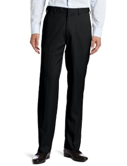 Haggar  - Plain-Front Expandable-Waistband Dress Pants