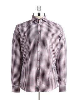 Strellson  - Slim Fit Checkered Sport Shirt