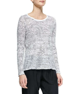ATM - Long-Sleeve Striped Tee