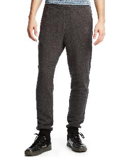 Kenneth Cole Reaction - Faux Leather Sweatpants