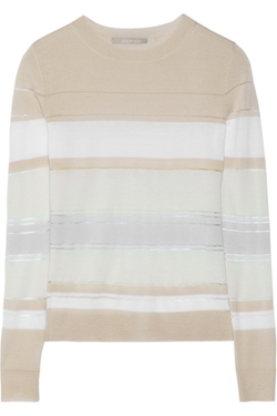 Jason Wu - Striped Merino Wool-Blend Sweater
