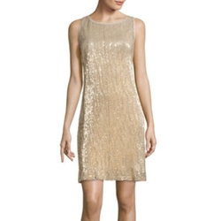 Studio 1 - Sleeveless Sequin Sheath Dress
