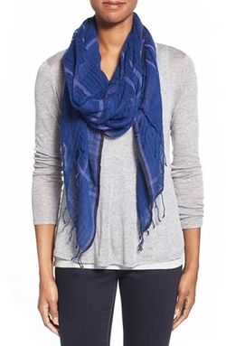 Eileen Fisher  - Airy Linen Blend Scarf