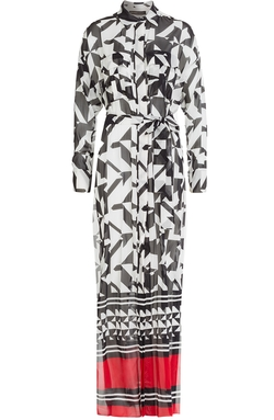 Alexandre Vauthier - Printed Silk Maxi Dress