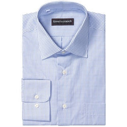Kenneth Gordon  - Fancy Check Dress Shirt
