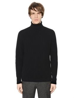MP Massimo Piombo  - Wool & Cashmere Turtleneck Sweater