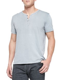 John Varvatos Star Usa - Henley Tee Shirt