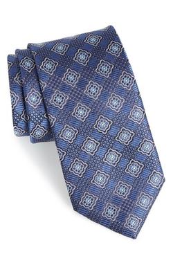 John W. Nordstrom - Floral Medallion Silk Tie