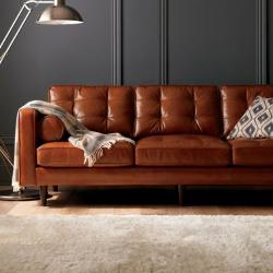 Darrin  - Leather Living Room Collection