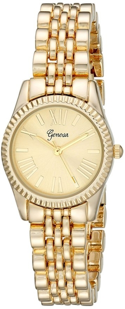 Geneva - Analog Quartz Gold Watch