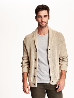 Old Navy - Shawl-Collar Space Dye Cardigan