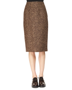 Michael Kors Collection - Tweed Slim Pencil Skirt