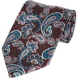 BRIONI  - Paisley Tie