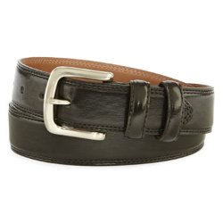 Izod - Double-Stitch Casual Belt