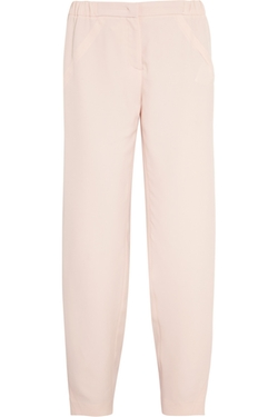 Fendi  - Brushed-Satin Pajama-Style Pants