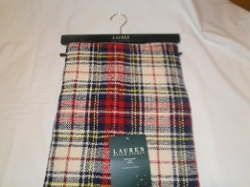 Lauren Ralph Lauren - Plaid Tassled Throw Blanket