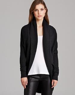 Vince  - Circle Wool Cashmere Cardigan