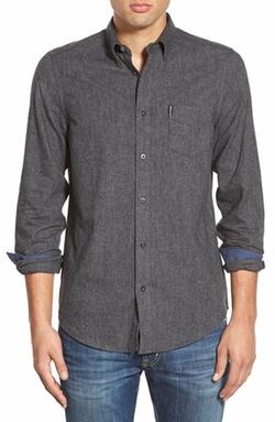Ben Sherman - Trim Fit Brushed Twill Woven Shirt