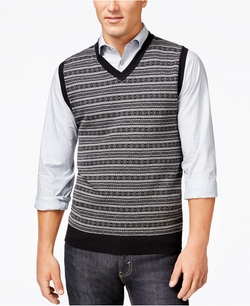 Club Room - Fair Isle Sweater Vest