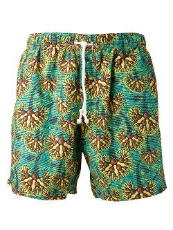 Bantu  - Print Swim Shorts