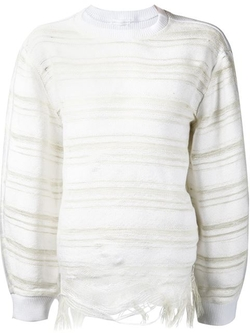 Faustine Steinmetz - Striped Crew Neck Sweater