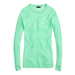 J.Crew - Collection Featherweight Cashmere Long-Sleeve Ribbed Tee Shirt