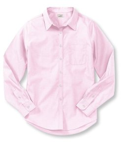 L.L.Bean - Wrinkle-Resistant Pinpoint Oxford Shirt
