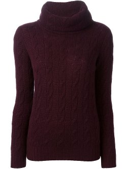 Ralph Lauren Black  - Cable Knit Sweater