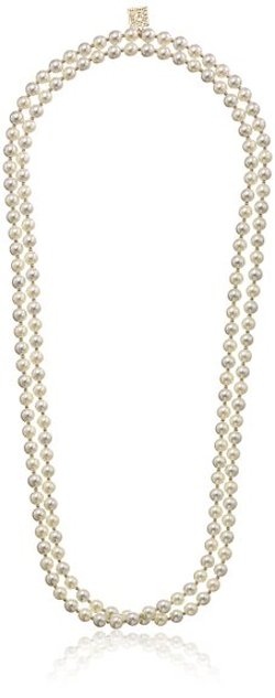 "Anne Klein  - ""Perfectly Pearl"" Double Strand Necklace"