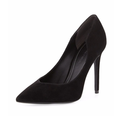 Kendall + Kylie - Abi Pointed-Toe Suede Pumps