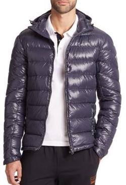 EA7 Emporio Armani - Hooded Nylon Puffer Jacket