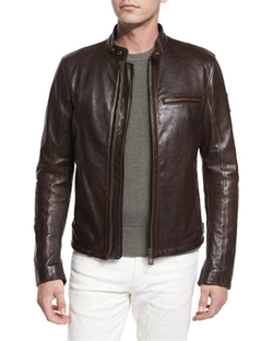 Belstaff  - Speedway Leather Moto Jacket