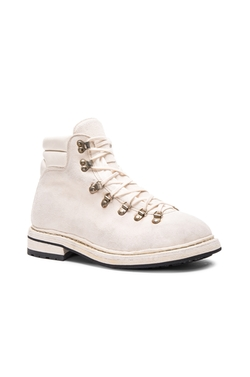 Guidi  - Lace Up Suede Combat Boots