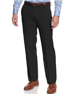 Kenneth Cole Reaction  - Dress Pants Slim Fit Sharkskin