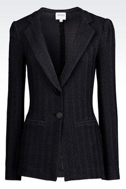 Armani - Chevron Jacquard Jacket