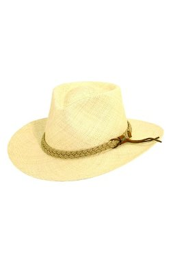 Scala  - Panama Straw Outback Hat