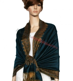 Fashion Anything - Border Patterned Pashmina