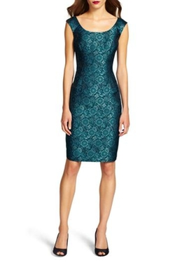 Shoptiques - Jacquard Sheath Dress