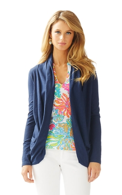 Lilly Pulitzer - Leslie Drapey Front Cardigan