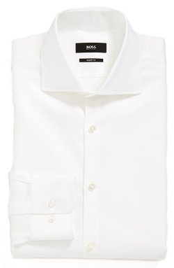 Hugo Boss - Miles Sharp Fit Check Dress Shirt