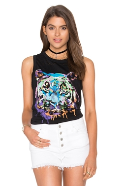 Chaser - Rainbow Tiger Tank Top