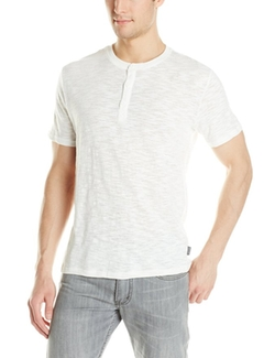 Threads 4 Thought - Short-Sleeve Slub Henley Shirt