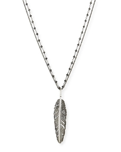 Michael Aram - Feather Pendant Necklace