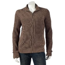 Marc Anthony  - Cable-Knit Cardigan Sweater