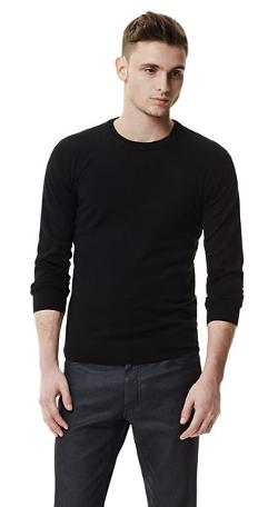 THEORY - Leiman C Sweater in Cashcotton Cotton Cashmere