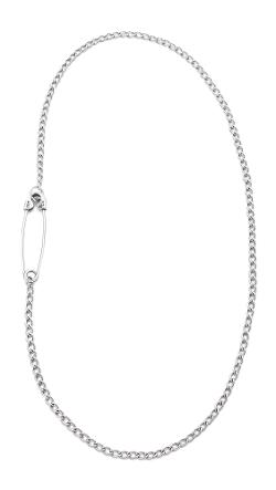 Giles & Brother  -  Embedded Safety Pin Necklace