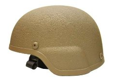 AirSplat - Airsoft ABS MICH Tactical Helmet Tan