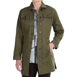 FDJ French Dressing -  Silktouch Denim Long Jacket