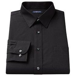 Croft & Barrow - Broadcloth Point-Collar Dress Shirt